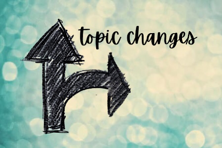 Topic Changes – A little insight into group strategies